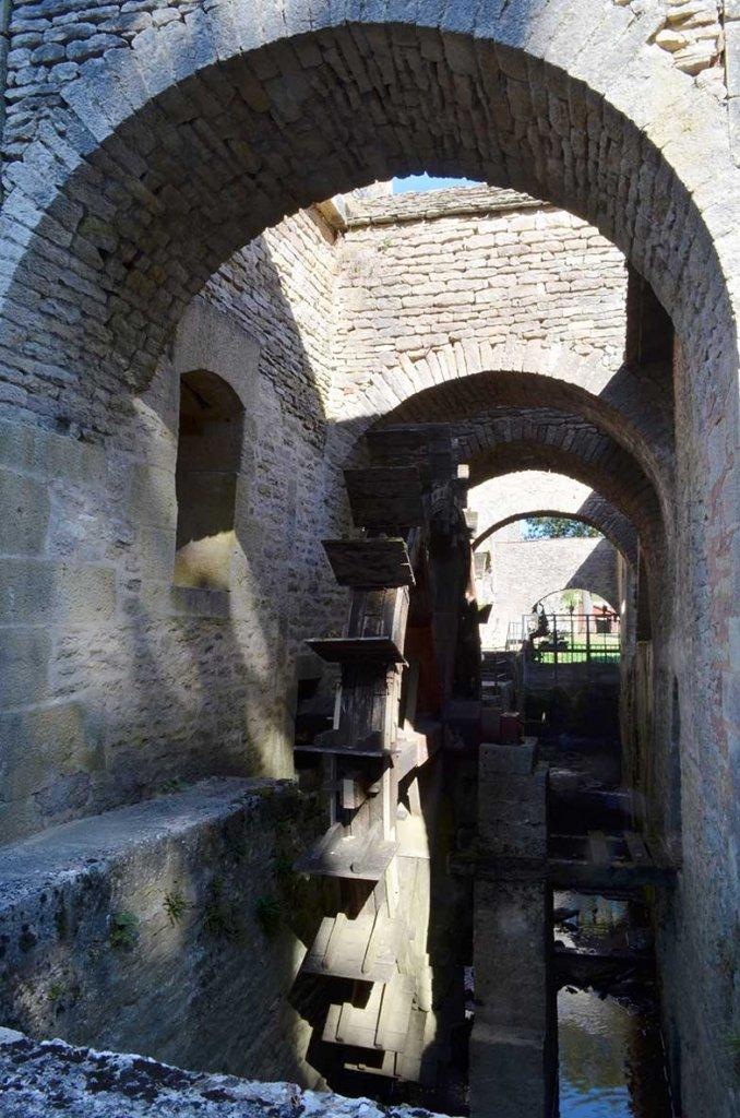 Buffon forge water-wheel